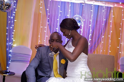 Pictures From Obiwon's Church Wedding & Reception. 26