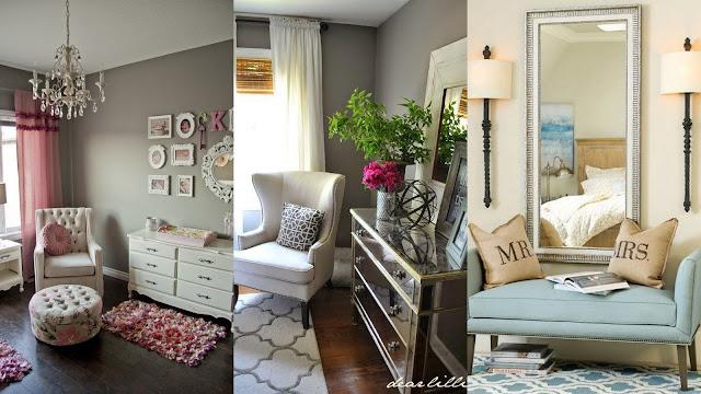 yatak odasi koltuk dekorasyonu