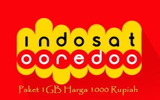 Paket Indosat 1gb