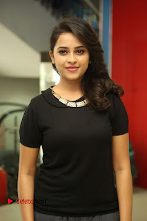 Actress Sri Divya Latest Pictures in Black Top  0019