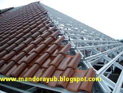 harga rangka atap baja ringan klaten termurah price list bahan material mandor pemborong