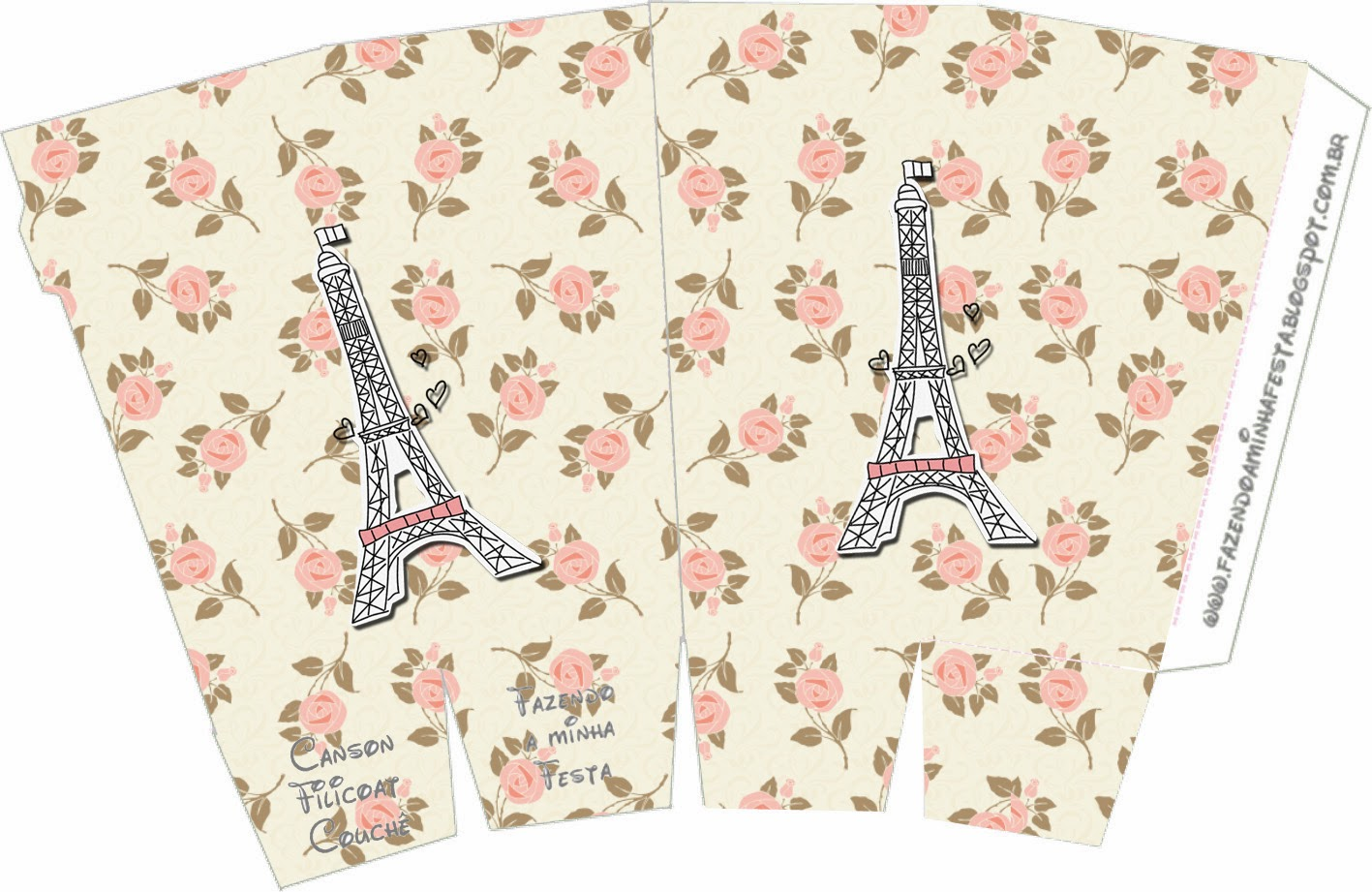 Paris And Roses Free Printable Boxes Oh My Fiesta In