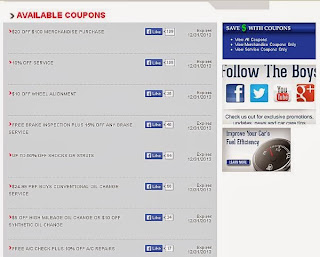 Pep Boys Tire Coupons And Deals