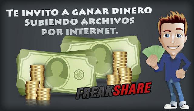 Gana dinero Compartiendo archivos