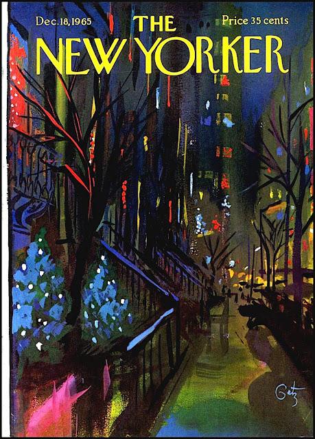 Arthur Getz illustration 1965 for New Yorker