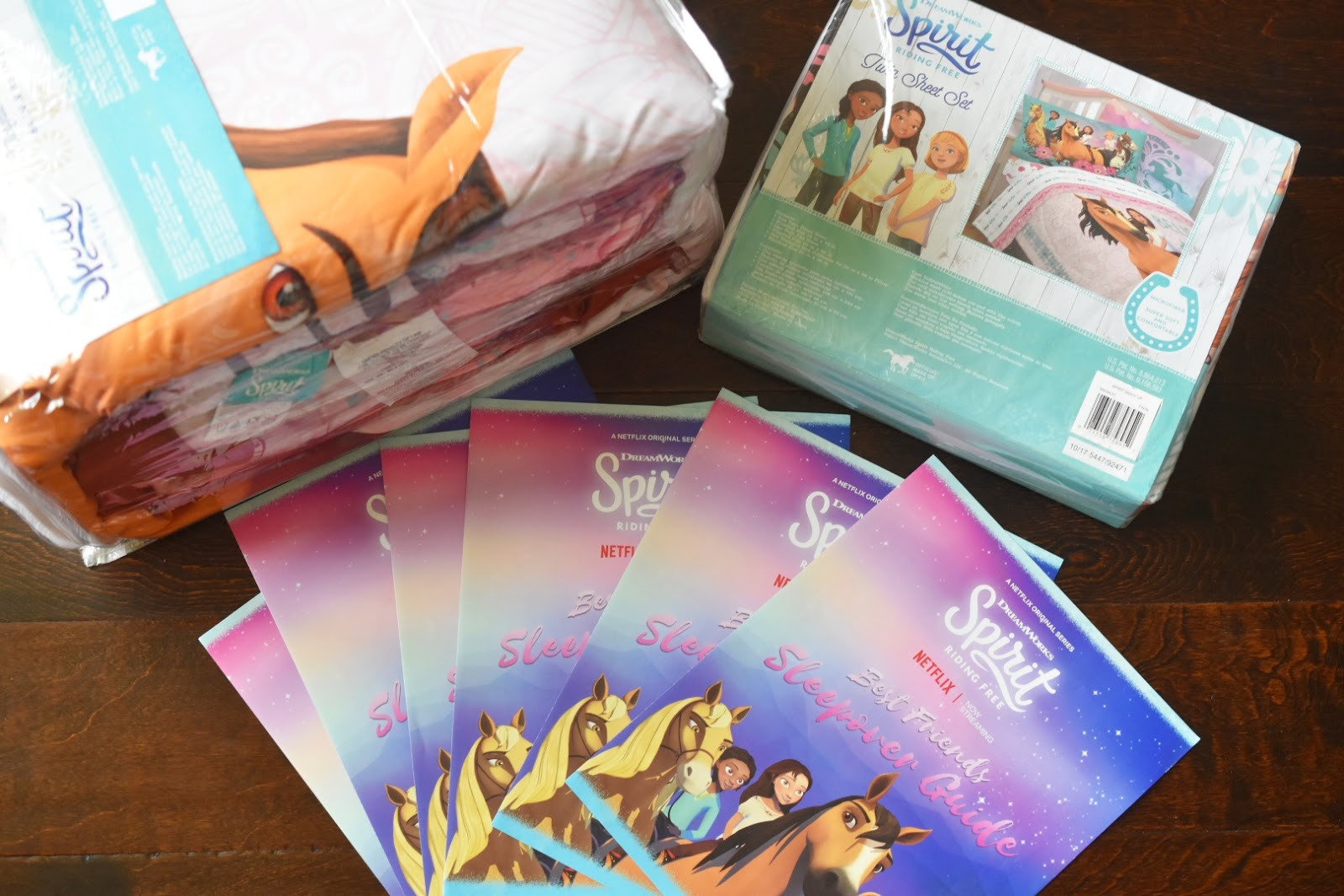 Giveaway: DreamWorks Spirit Riding Free Girl's Bedding Set Ends June 6th  via  www.productreviewmom.com