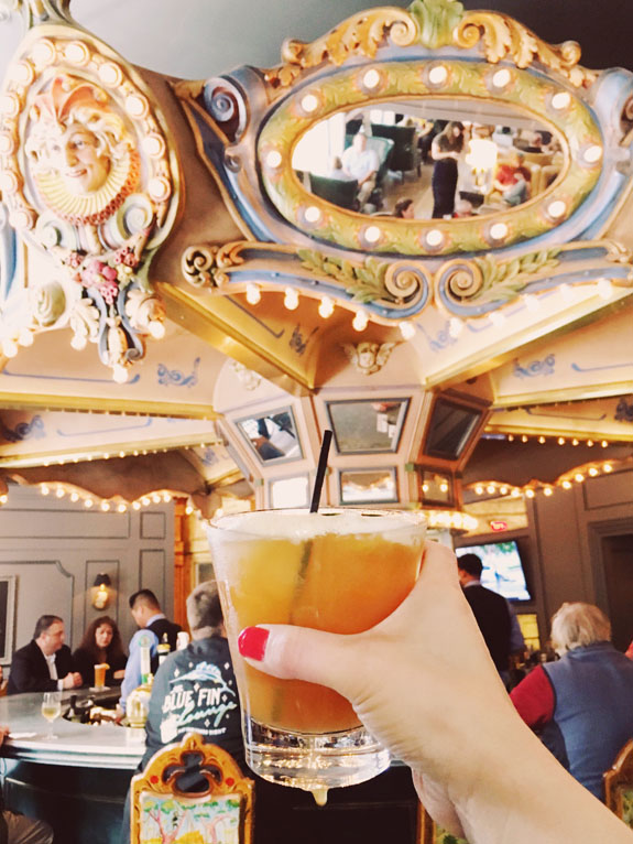 Where to Eat in New Orleans carousel bar