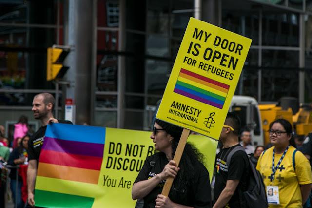 Toronto Pride Parade 2017 refugees