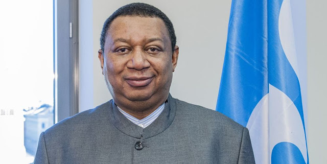 Image Attribute: The file photo of OPEC Secretary General, H.E. Mohammed Barkindo / Source: The Gulf Intelligence
