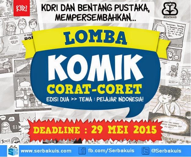 Lomba Komik Corat-Coret Pelajar Indonesia