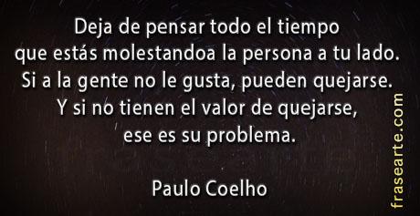 Frases para pensar - Paulo Coelho