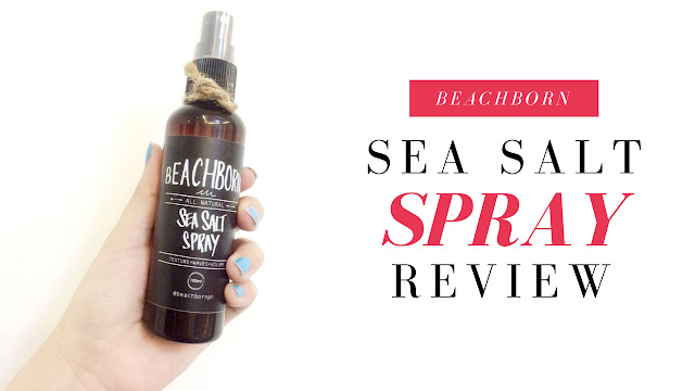 Beach Born Sea Salt Spray