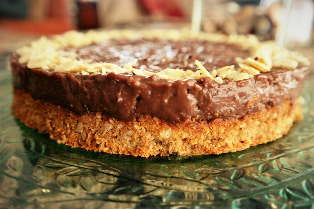 İncirli Pasta (Rafine Unsuz ve Şekersiz)