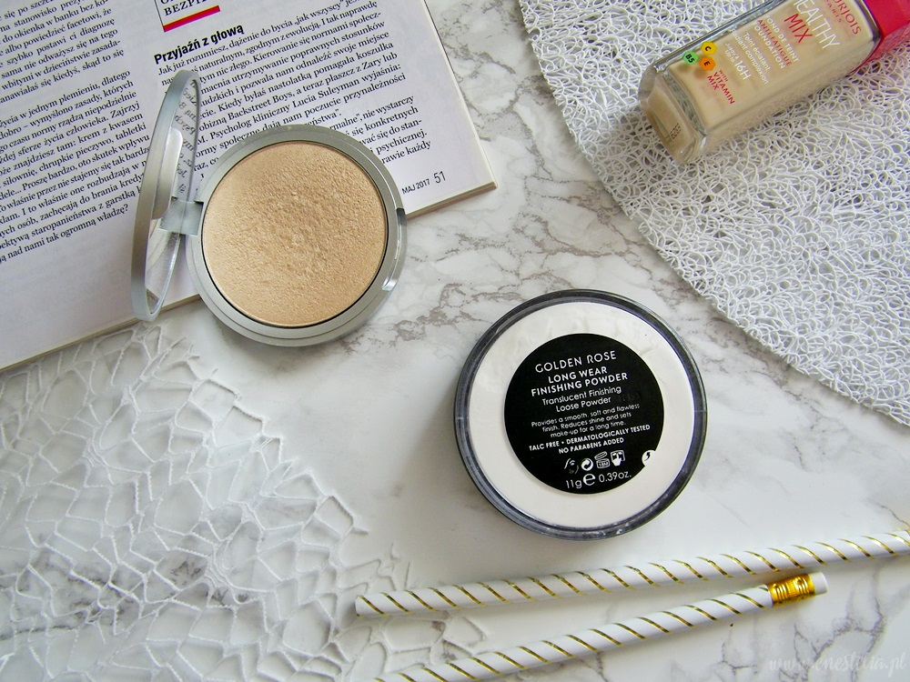 BLOGGER MADE ME BUY IT | The Balm Mary Lou Manizer, Golden Rose Long Wear Finishing Powder
