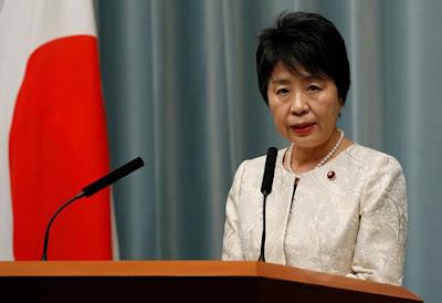 Ministra da Justiça, Yoko Kamikawa