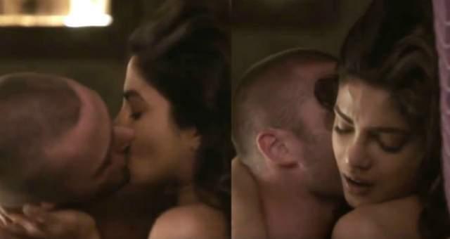 Priyanka Chopra Kissing Scene from Quantico 2