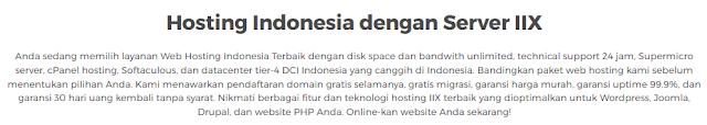 Tips Memilih Tempat Layanan Domain dan Web Hosting yang Tepat