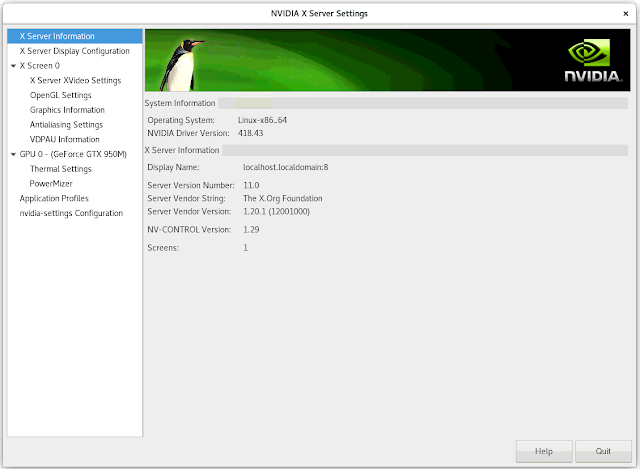 How To Make Nvidia Graphics Adapter Functional on a CentOS 7 Laptop