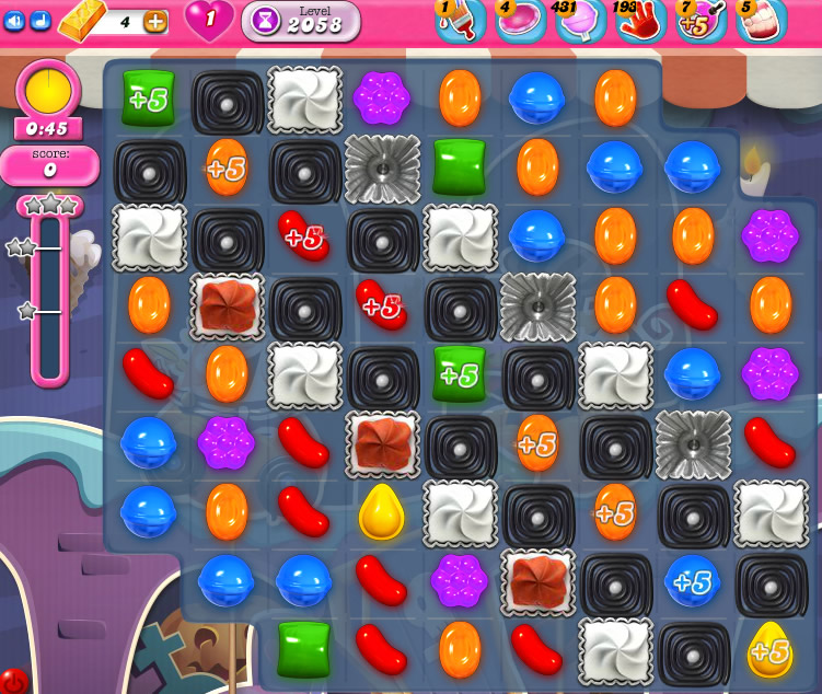 Candy Crush Saga 2058