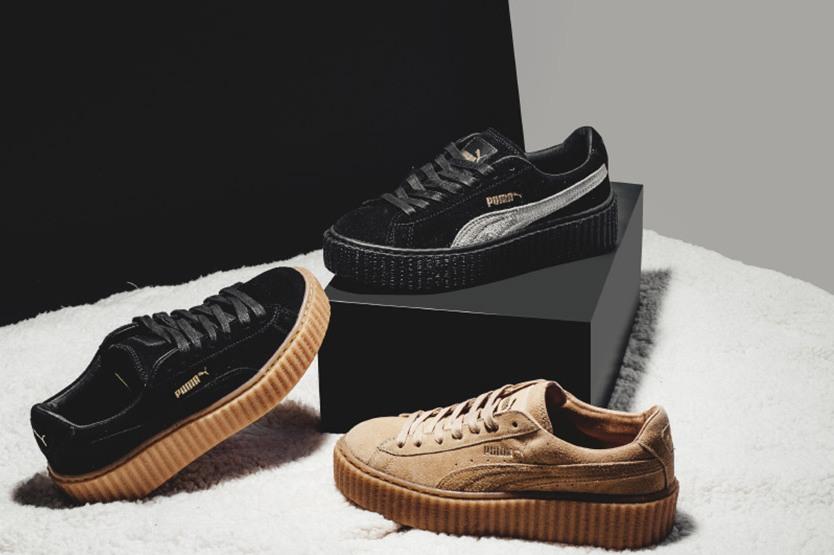 Puma Creeper  Sneaker Collabs Pertama Rihanna Dengan Puma ... 2727f34a1f