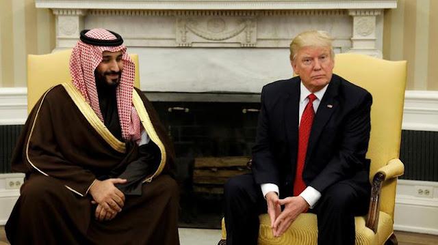 Bertemu Trump, Pangeran Saudi Sebut AS Teman Sejati Muslim