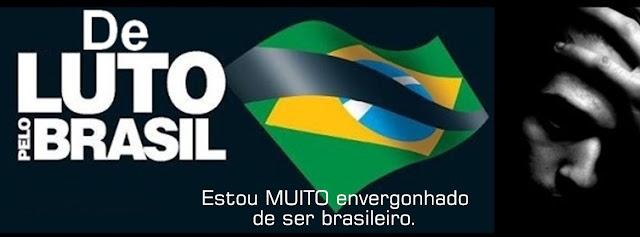 Resultado de imagem para CORRUPÇÃO E IMPUNIDADE ENVERGONHAM OS BRASILEIROS