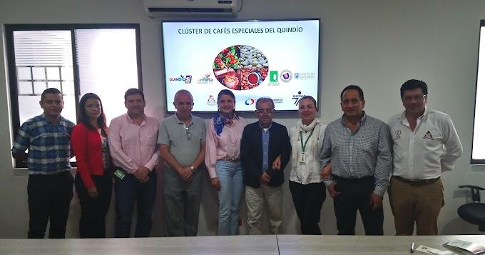 Delegación del Cauca visita el Clúster de Cafés Especiales del Quindío