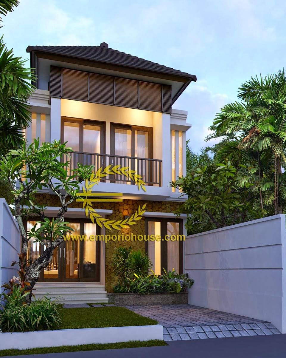 8 Inspirasi Rumah Minimalis 2 Lantai Lebar 6 Meter Terbaik