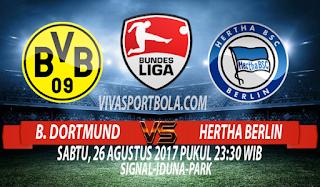 Prediksi Borussia Dortmund vs Hertha Berlin 26 Agustus 2017
