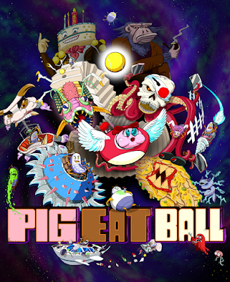Pig Eat Ball video game on STEAM