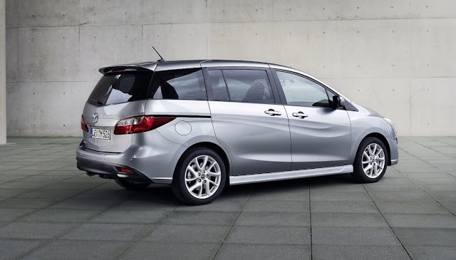 2014 Mazda 5 grey