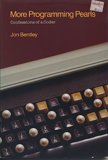 Book cover with keyboard and pearls