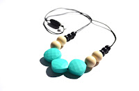 Bo&Bel, teething jewelry, teething necklace, childrenchangingcareers