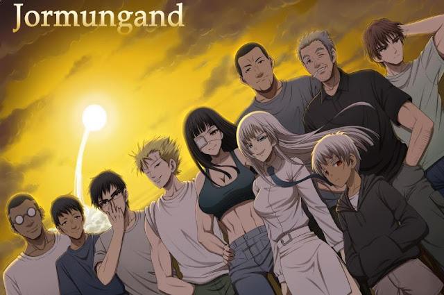 Anime dengan Karakter Utama Cool Jormugand