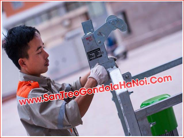 Cách kiểm tra độ an toàn của sàn treo Gondola