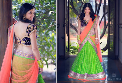 Latest-indian-bridal-lehenga-sarees-2017-with-new-blouse-designs-12