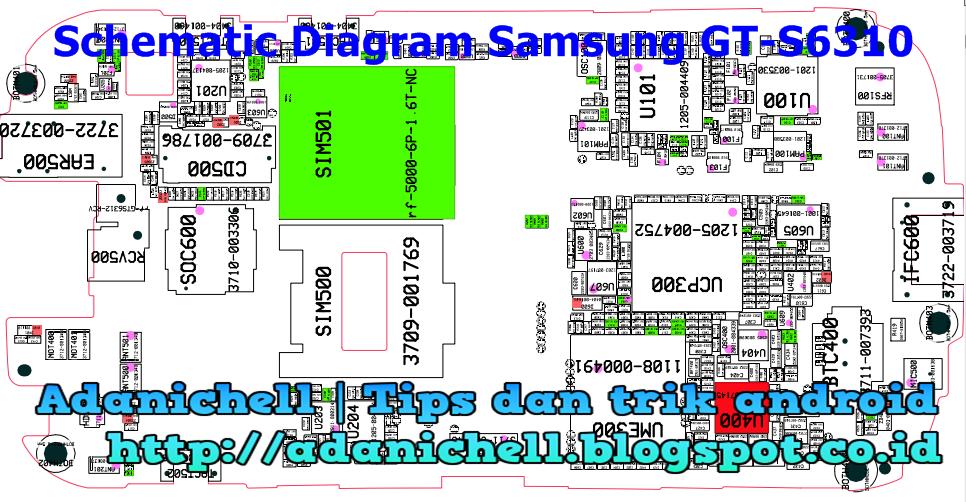 Schematic Samsung G130h | Diagram