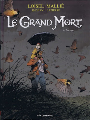 Le grand mort tome 5 editions Vents D'Ouest