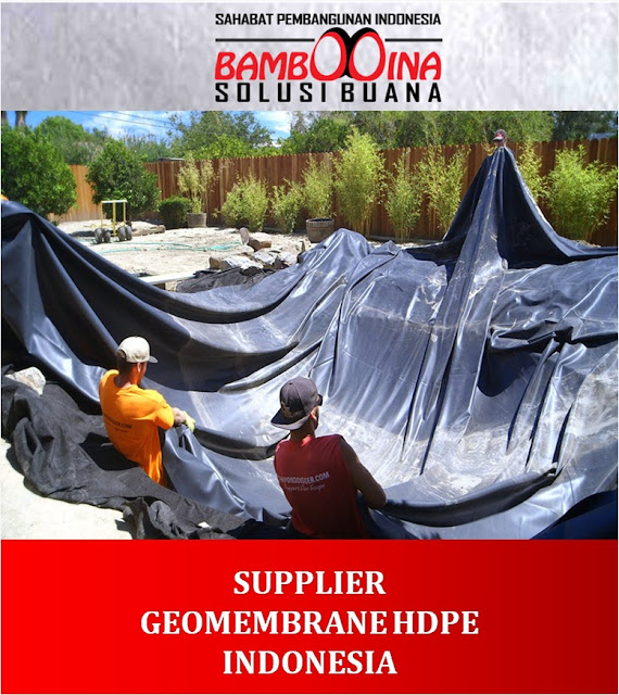 Jual Geomembrane HDPE Murah di Sumatera Barat