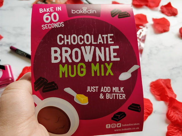 Bakedin Chocolate Brownie Mug Mix