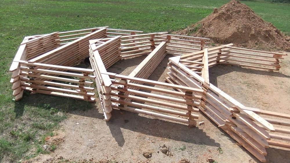 Charpentier Ecoconstructeur en dordogne 24 Ossature bois cadre portique