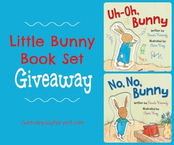 Little Bunny Children's Book Set Giveaway