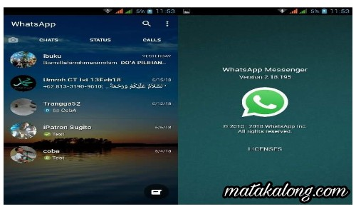 Cara Agar Background Whatsapp Transparan