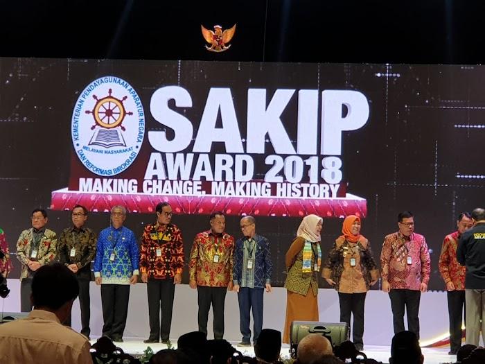 Pemerintah Kabupaten Lampung Selatan Meraih Sakip Sesuai Sasaran Indikator Kinerja Baik.