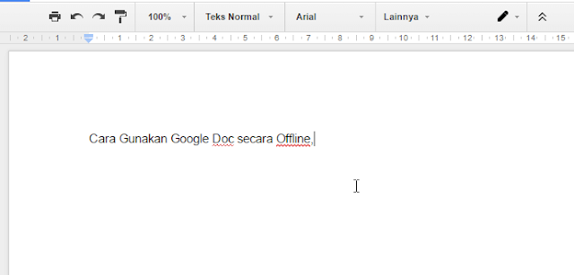 Cara Menggunakan Google Docs secara Offline