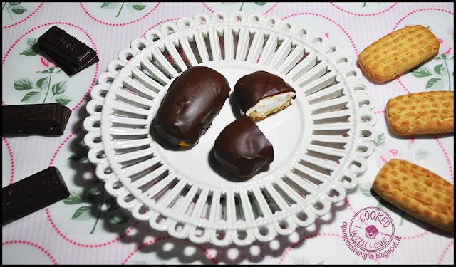 Ricetta Biscotti Marshmallow cream cioccolato