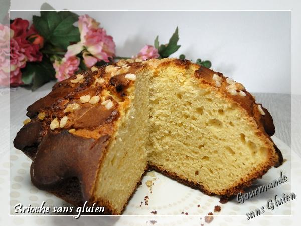 Brioche sans gluten