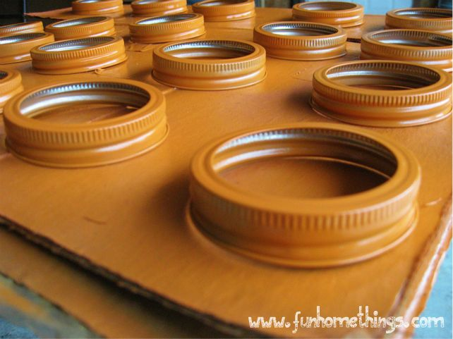 canning lid pumpkin fun home things