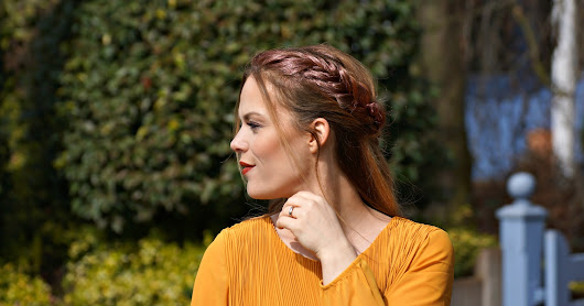 Spring Look mit #rosegold Highlights