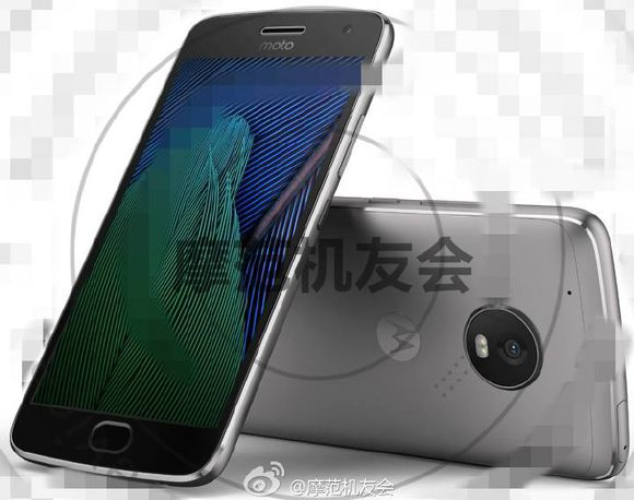 Moto G5 Plus Press Image Leaks, Shows Off Design And Confirms earlier leaks